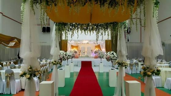 Malaysian Wedding Photos with Malay Melayu Wedding Decoration at Klang Selangor Malaysia