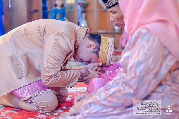 Foto Pengantin Muslim Melayu Bugis Pernikahan Wedding di Pekanbaru