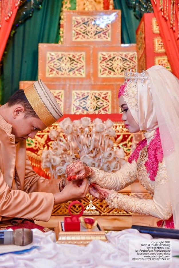 Foto Pengantin Pernikahan Muslim Melayu Bugis Wedding di Pekanbaru