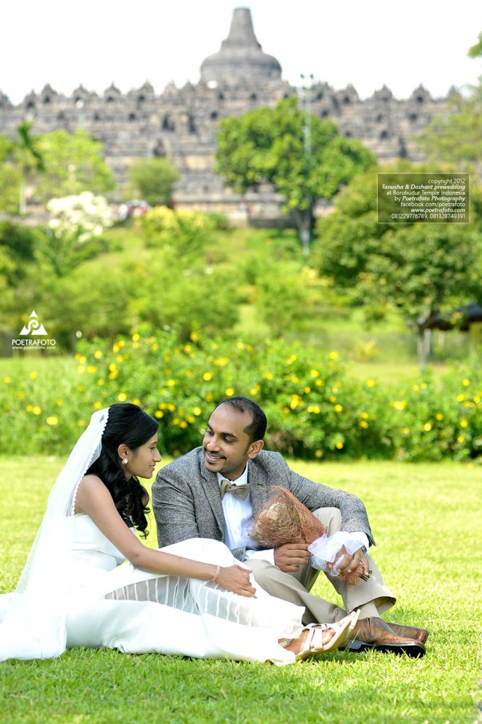 Pre Wedding Photos at Borobudur Temple (Foto Prewedding di Candi Borobudur) Tanusha+Dashant