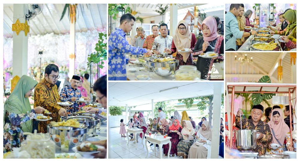 Foto Resepsi Pernikahan Ngunduh Mantu Pengantin Pernikahan Adat Jawa di Monumen Diponegoro Jogja Wedding Gusti+Dimas