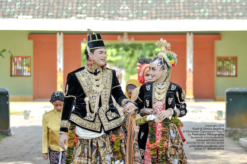 Jogja Wedding Photographer di Ngunduh Mantu Pernikahan Pengantin Adat Jawa Paes Ageng Kanigaran Hijab Wedding Gusti+Dimas