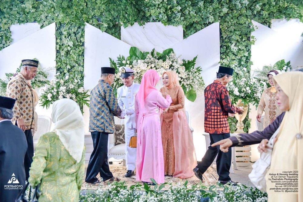 Hasta Pora Bintara TNI AL Pernikahan Pelaut Prajurit Militer Tamtama Marinir Angkatan Laut Wedding Jogja Anissa+Nanang